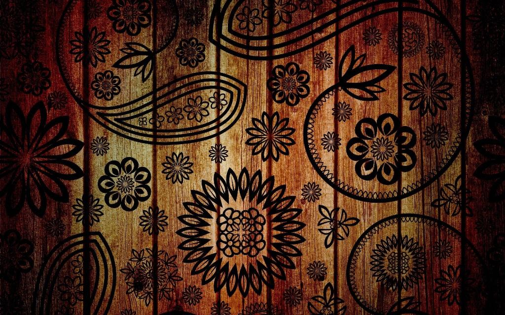 gb kayu corak